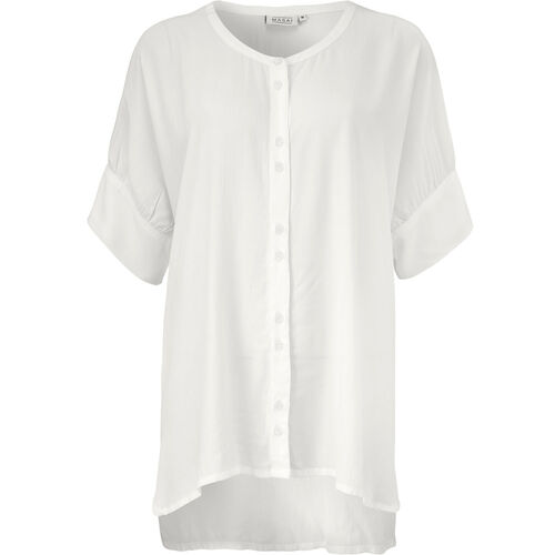 IESHA BLUSE, CREAM, hi-res