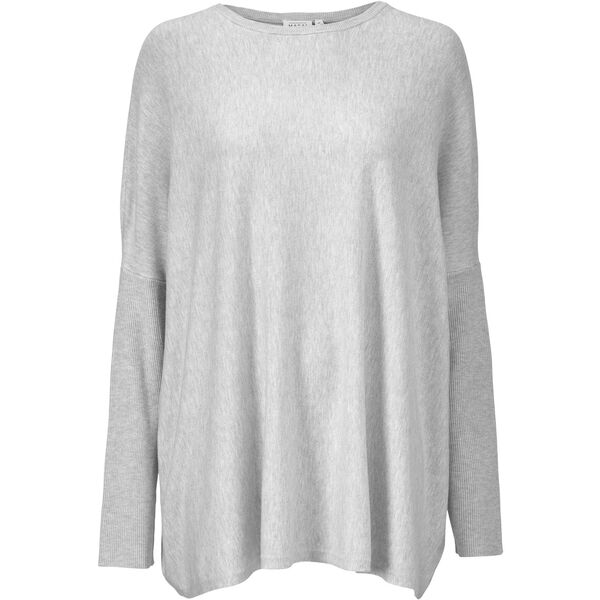 FANASI TOP, Light Grey Melange, hi-res