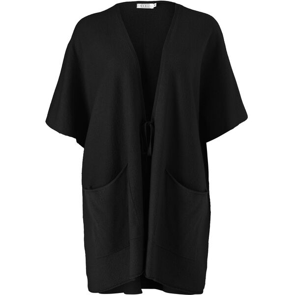 LONGIA CARDIGAN, BLACK, hi-res