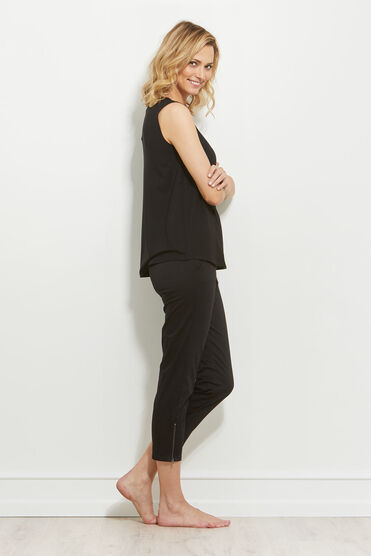 ELISA TOP, BLACK, hi-res