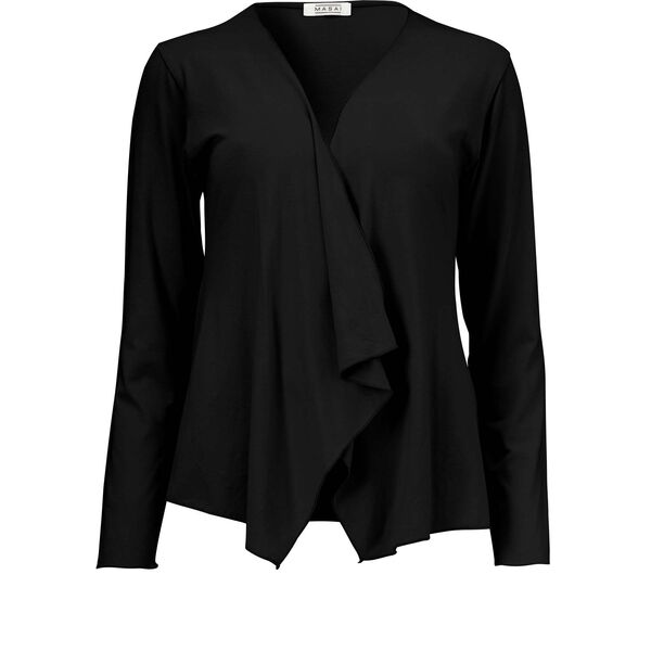 ITALLY CARDIGAN, Black, hi-res