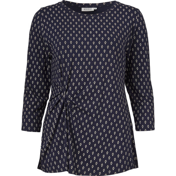 DEDE TOP, NAVY, hi-res