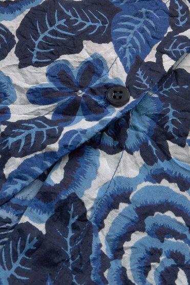 IDA BLUSE, GREEK BLUE, hi-res