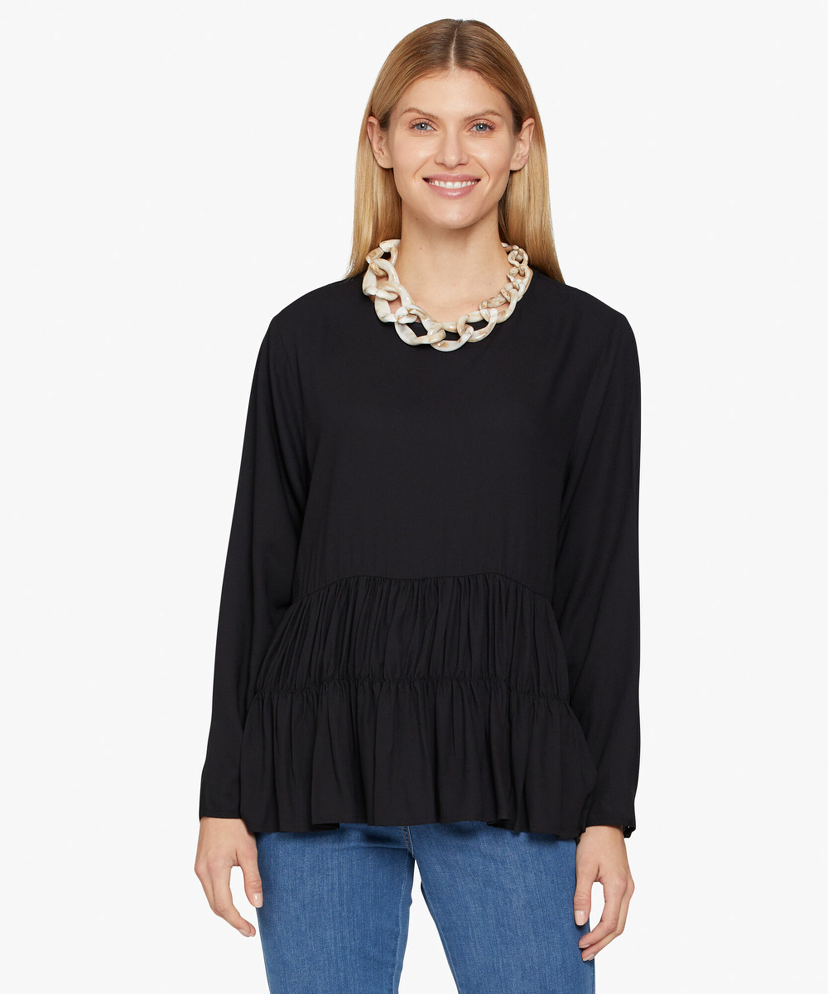 BIA TOP, Black, hi-res