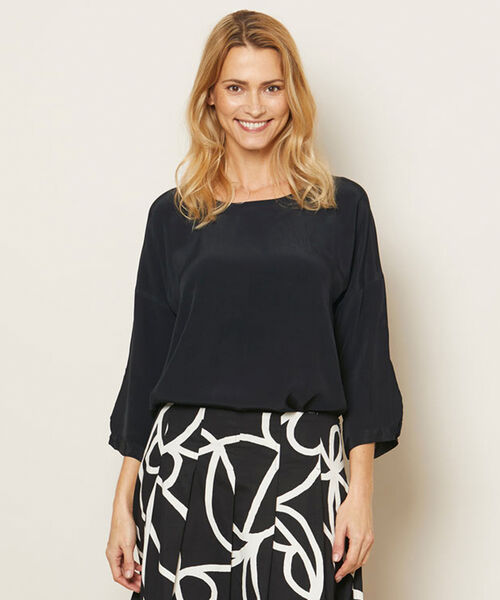 DANUTA TOP, Black, hi-res