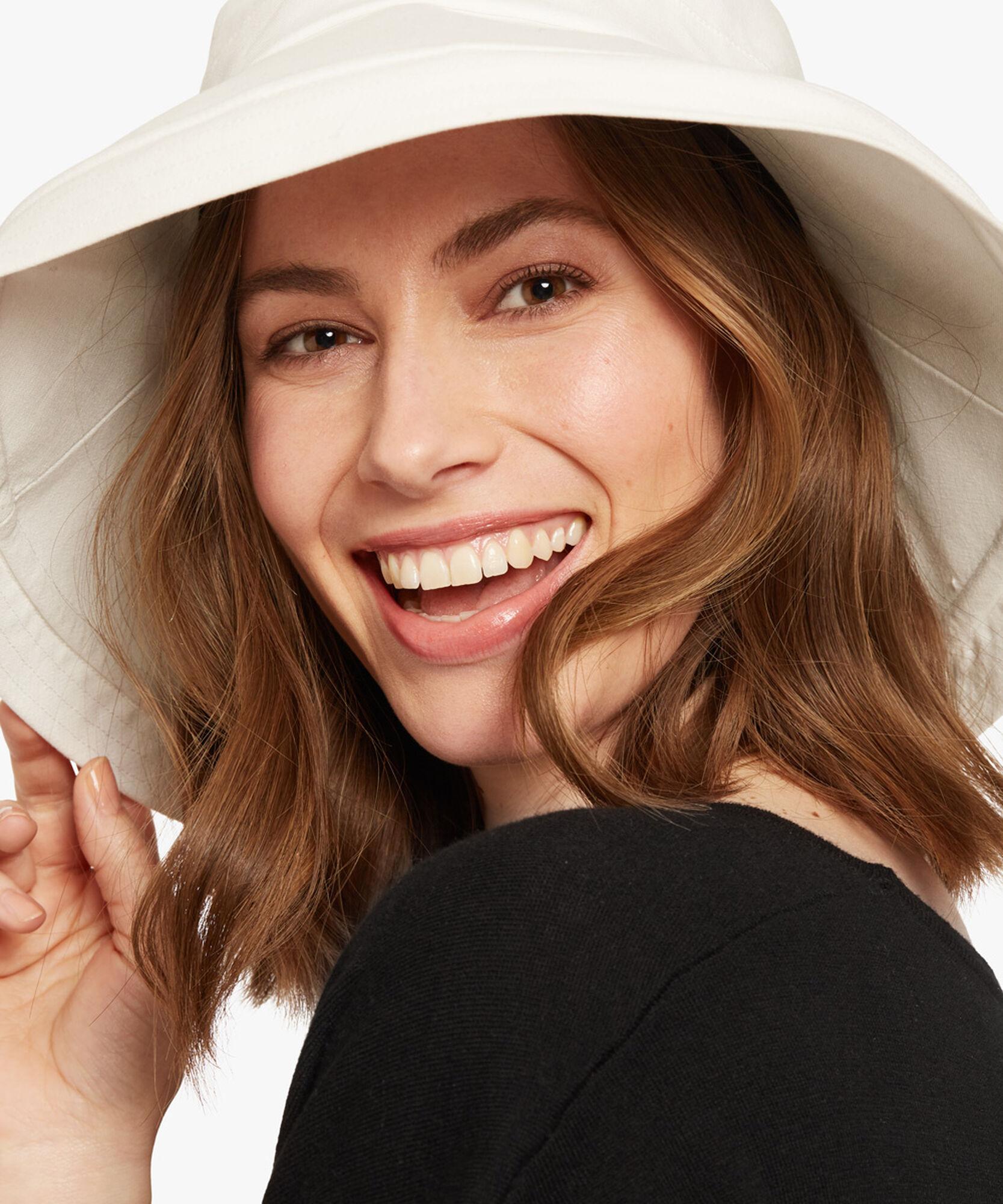AUDREY HAT, White, hi-res