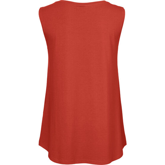 ELISA TOP, RED OCHRE, hi-res