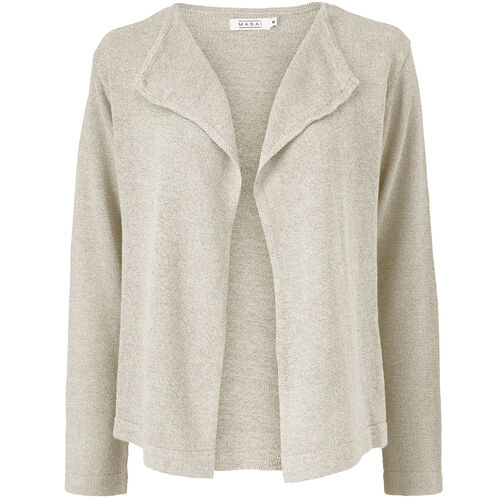 LEONOR CARDIGAN, NATURAL, hi-res