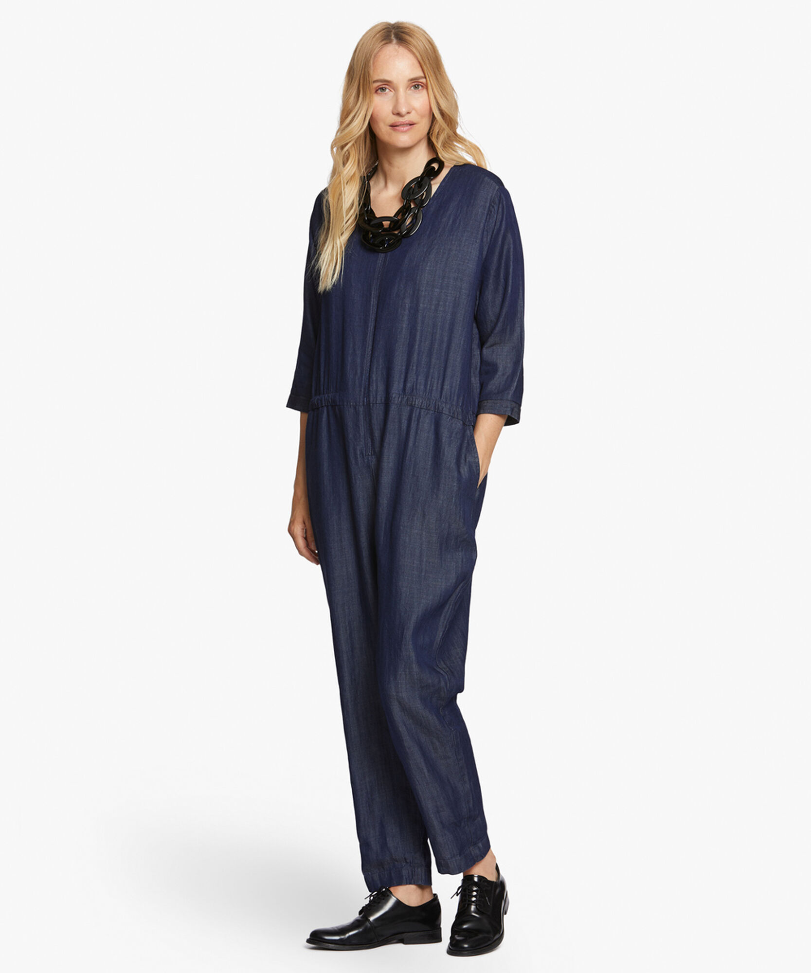 NOVA JUMPSUIT, Dark Denim, hi-res