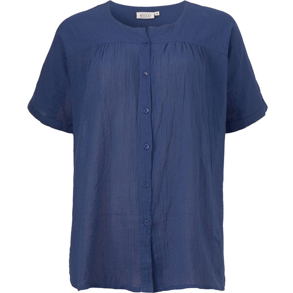 ILEEN BLUSE, OXFORD BLUE, hi-res