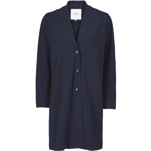 INA CARDIGAN, Navy, hi-res