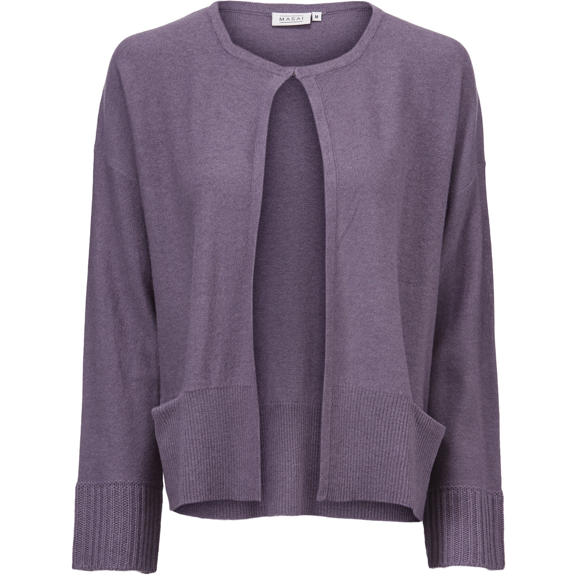 LEANN CARDIGAN, Purple Sage, hi-res