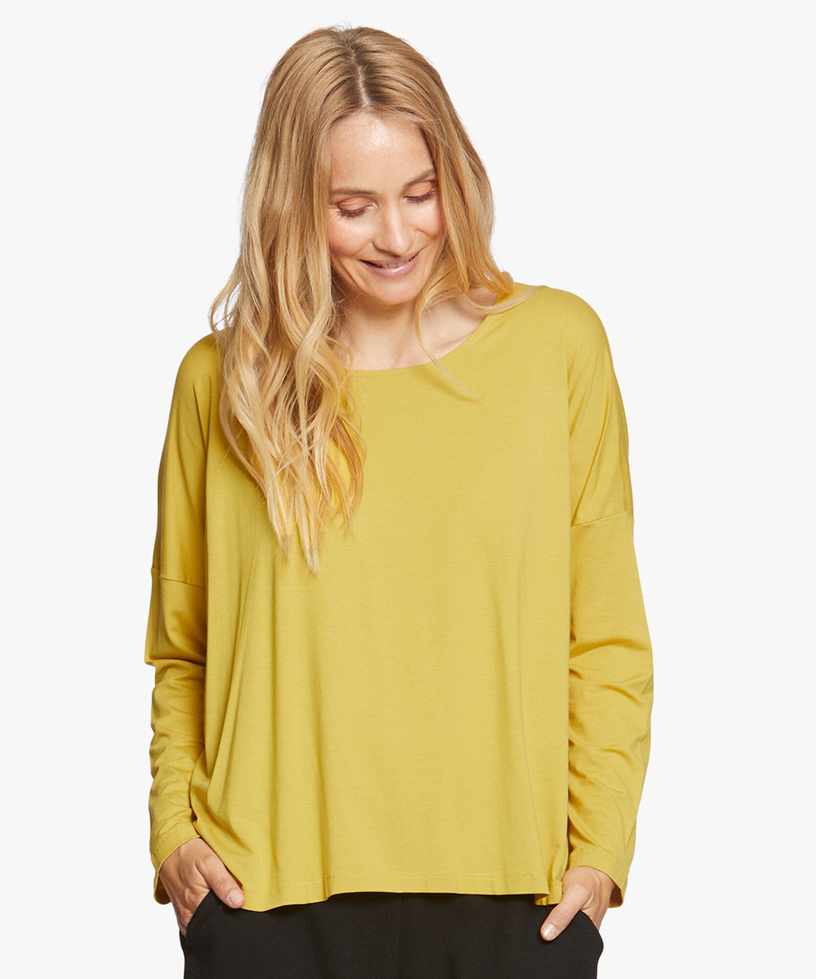BABUA TOP, Oil Yellow, hi-res