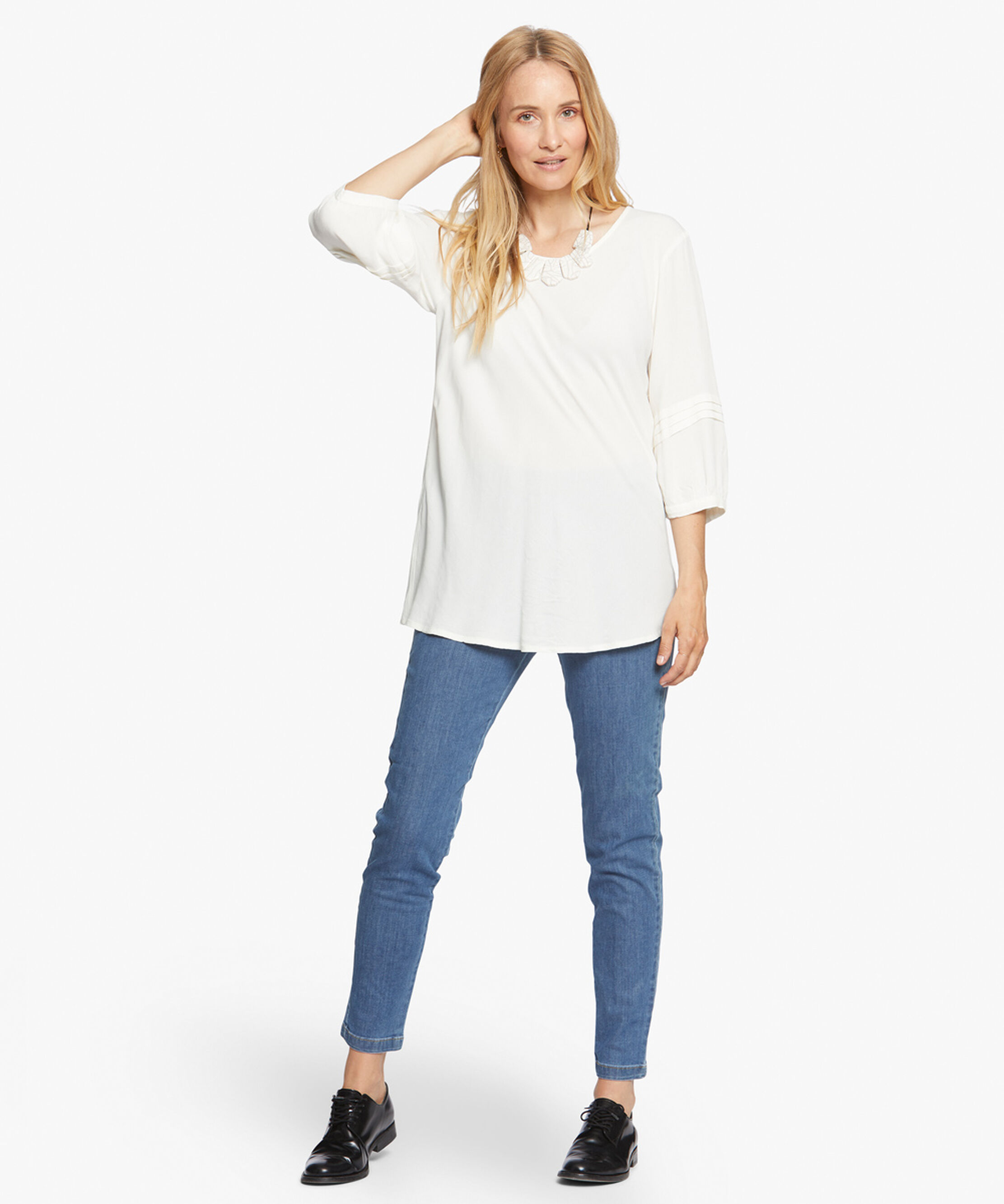 BEATE TOP, Cream, hi-res