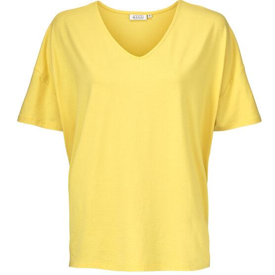 DALIA TOP, Cream gold, hi-res